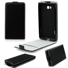 Samsung Galaxy A5 (2017) SLIM FLEXI Flip Tasche Case Klapp Hülle - Schwarz NEU