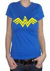 fm10 t-shirt maglietta donna WONDER WOMAN batman v superman CINEMA&TV