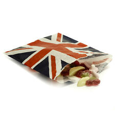 50 Union Jack Sweet Paper Candy party sweet Bags Royal Wedding party bags