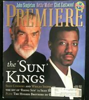 PREMIERE Magazine August 1993 SEAN CONNERY / Wesley Snipes / Clint Eastwood