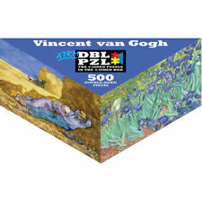 Vincent van Gogh Pigment & Hue Double-Sided Puzzle 500 Piece XTRM DBL PZL Irises
