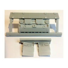 1/35 Leopard 2A4 M Correct CAN Rear Plate for Hobby Boss kit #83867