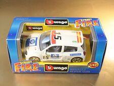 BBURAGO BURAGO 1/43 STREET FIRE COLLECTION #41960 RENAULT SUPER CLIO [PL3-59]