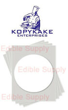 "KOPYKAKE 8"" Circle Frosting Sheet  Edible Paper Icing Sheet - KJFS8RND"