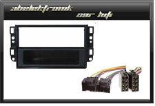 Radioblende 1DIN für Chevrolet Aveo Captiva Epica  Einbaurahmen + Adapter