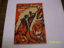 LES BAUX  --provence -  j.m.reynaud - couverture  illustrée par serra -