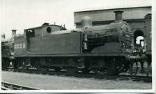 ex LTSR 3F 0-6-2T Locomotive LMS No.2225 Plaistow Shed London real photograph