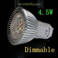 4/10× 6W 8W 9W LED Spot Light SMD Bulbs Dimmable Lamp GU10 MR16 Day Warm White