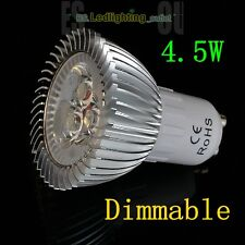4/10x 4W 6W 8W LED GU10 MR16 Spot Lights High Power Bulbs Lamp Dimmable OPTIONAL