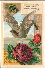 Victorian Trade Card: C Klump Shoes - Watertown, NY