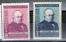 1940 República Dominicana Yvert 334-35. Centenario del sello