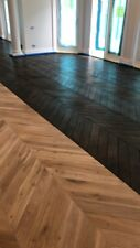 Chevron European Oak Parquetry Flooring 710x123x18mm SOLID TIMBER SELECT