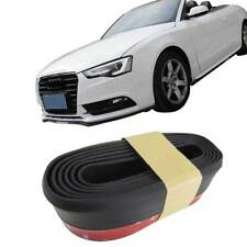 Frontspoiler Gummilippe Spoiler Lippe Gummi Flexibel Schwarz für viele Fahrzeuge