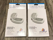 Pioneer Pet Replacement Filters for Ceramic and Stainless Steel Fountains Lot 2