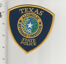 US Police Patch Texas State Police Alcoholic Beverage Commission