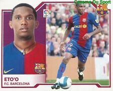 SAMUEL ETO´O CAMEROON FC.BARCELONA STICKER LIGA ESTE 2008 PANINI