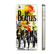 THE BEATLES WATERCOLOUR ART MUSIC GROUP CASE FITS ALL  IPHONE MODELS