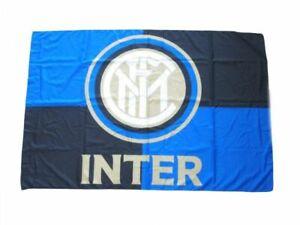 Bandiera inter ufficiale 110x140 GRANDE bandierone senza asta nerazzurra