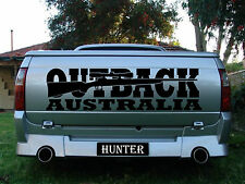 Large Outback Australia Vinyl Decal 1100 X 300 Mm