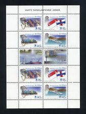 NETHERLANDS ANTILLES (Curacao) 2004 Sheetlet SIngapore Tourism Expo MNH  (S*-10)