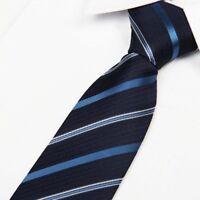 Fashion Men's Necktie Jacquard Woven Tie Silk Narrow Wedding Skinny Slim