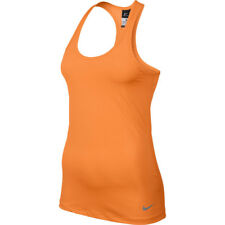 Nike Pro Hypercool Tank Top Running Training Mujer Orange Naranja Dri-Fit