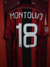 MONTOLIVO MILAN 2014-2015 MAGLIA SHIRT CALCIO FOOTBALL MAILLOT JERSEY SOCCER