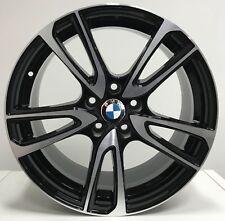 """Cerchi in lega BMW Serie 1 2 da 16"""" Nuovi OFFERTA SUPER PREZZO ICE BLACK GMP"""