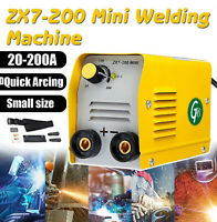 miniGB 200A IGBT DC ARC MMA Mini Electric Inverter Stick Welder Welding Machine