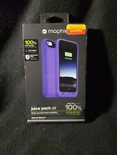 Mophie Juice Pack Air Battery Case 100% Battery For iPhone 6 & 6S PURPLE - NIB