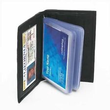 Business CARDS Credit ID 100% GENUINE LEATHER Wallet Holder Multi-Cards Case