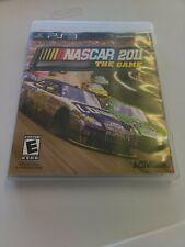 NASCAR 2011 PLAYSTATION 3 PS3 - COMPLETE CIB - FREE SHIP