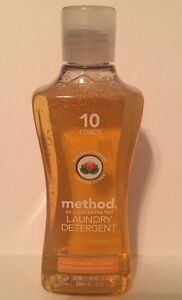 Method 4X Concentrated Liquid Laundry Detergent 10 Load Ginger Mango