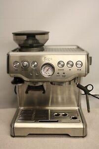 SAGE BES870UK BARISTA EXPRESS ESPRESSO MAKER BEAN TO CUP COFFEE MACHINE