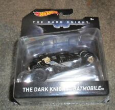Hot Wheels Batman The Dark Knight Batmobile #DKL27 New in Pack 2015 Black 1:50