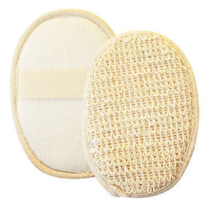Loofah Body Scrub Pad Gentle Skin Exfoliating Bath Shower Massage Wash Sponge
