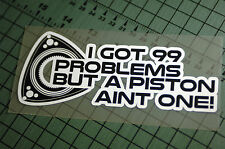 99 PROBLEMS Sticker Decal Vinyl JDM Euro Drift Lowered illest Fatlace Rotary