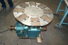 Industrial 30 Turntable Camco Emerson Baldor 1 12 Hp Dc Motor