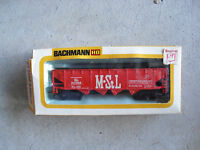 Vintage HO Scale Bachmann M StL. Hopper Car in Box 1006 46