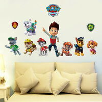 Paw Patrol  Wall Sticker Removable Vinyl Art Decal Kids Decor HOT!!!