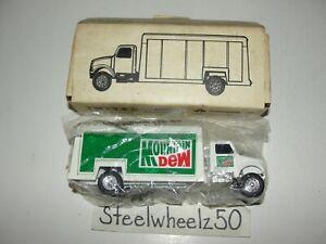 Ertl Mountain Dew International Beverage Truck 1992 1:64 Scale #T113 Diecast HTF
