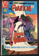 THE PHANTOM NO 47 DECEMBER 1971 CHARLTON COMIC Mid Grade! Rare Jewelers Insert!