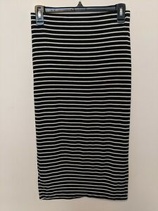 Old Navy Small Stripped Jersey Pencil Skirt