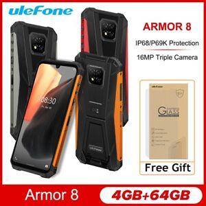 6.1'' Ulefone Armor 8 Rugged IP68/IP69K Android 10 4GB 64GB Smartphone 5580mAh