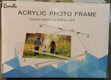 Acrylic Picture Frame | Magnetic Photo Holder | Set of 5-4x6 Inch