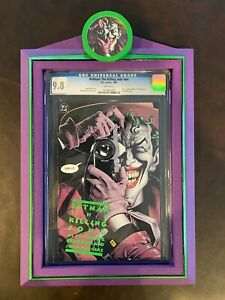 BATMAN THE KILLING JOKE 1st Print CGC 9.8 Includes Custom Frame