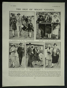 Isle Of Wight Scurry Ashey Racecourse 1927 Page Photo Article