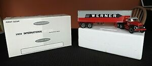 1:34 Werner Transportation & Trucking Co. 1959 IH Tractor Trailer First Gear