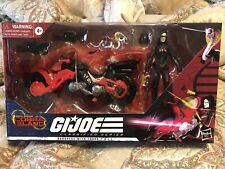 GI JOE Classified Baroness With C.O.I.L. Cobra Island Target EXCLUSIVE NIB