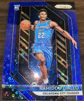 2018-19 Panini Prizm Fast Break Hamidou Diallo Blue Disco Prizm RC #8/175 OKC!